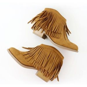 jervis tan suede ankle boots booties